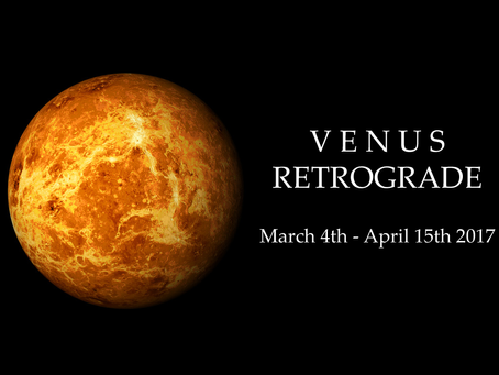 Venus Retrograde In 2017