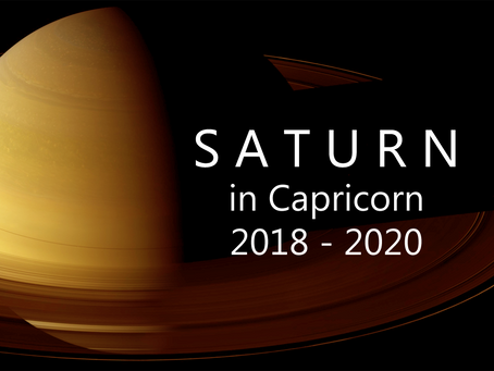 Saturn In Capricorn 2018 - 2020