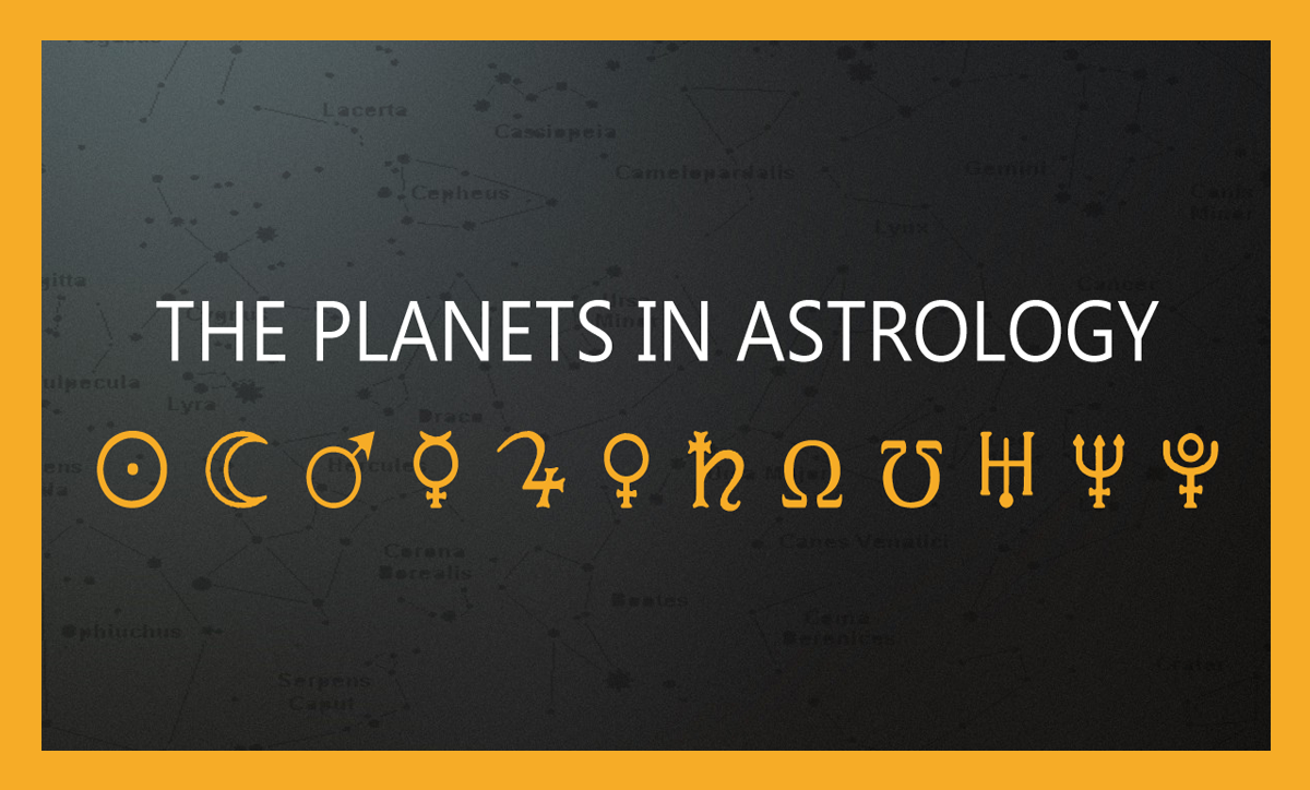 The planets in astrology the grahas ali noura astrology home geenschuldenfo Image collections
