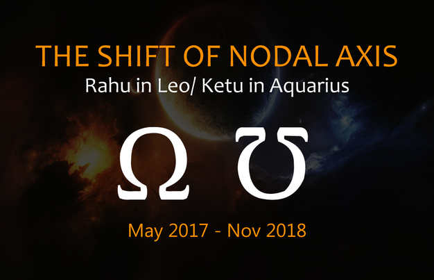 The Shift of Nodal Axis