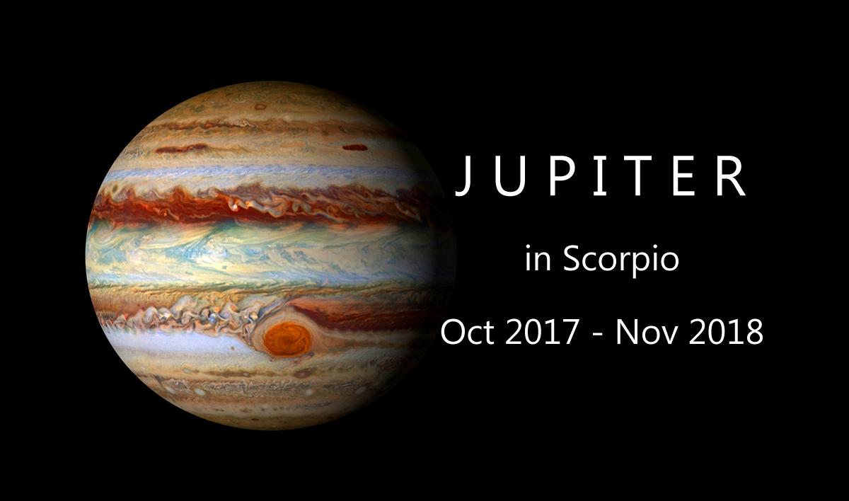 Jupiter Transit to Scorpio 2017 - 2018