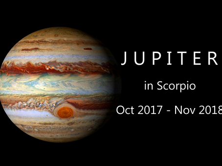 The Jupiter Transit to Scorpio 2017 - 2018