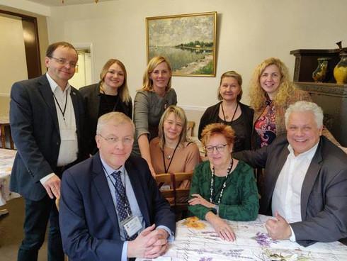 Eiropas latviešu apvienības 2019. gada kopsapulcē.
