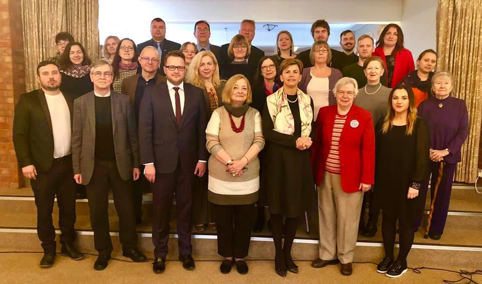 Latviešu Nacionālās padomes Lielbritānijā 2019.gada kopsapulce.