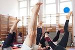 Posture du corps pendant un cours de pilates au Studio VDanse au Pradet