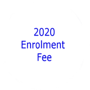 2020 Enrolment fee (new students only)