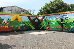 The Culture Yard Mural