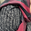 Thumbnail: Schal/Bordo-Nero/ Karo Muster