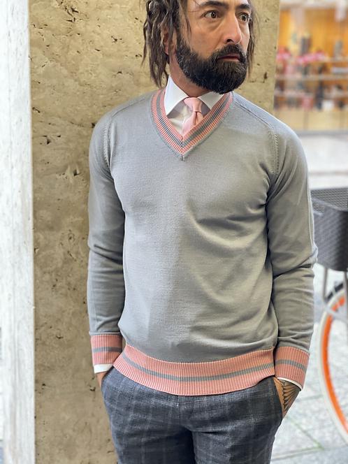 Pullover/V-Schnitt Sizilien