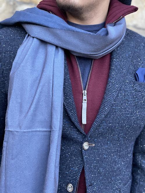Schal/Blau-Grau