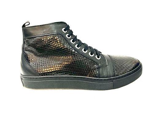 R&G Python Sneaker Nero