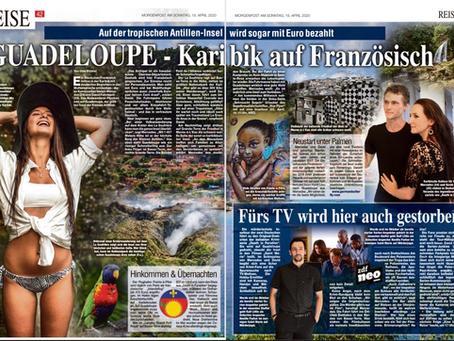 Morgenpost am Sonntag aus Dresden, Zeitungsausgabe vom 19.04.20