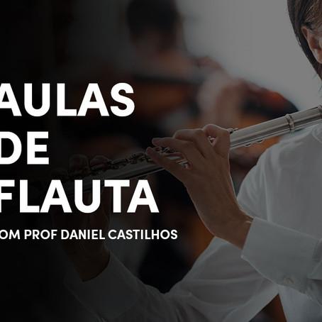 Aulas de Flauta Transversal - Com Profª.