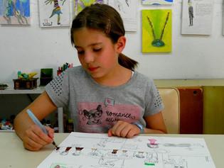 Desenho, Pintura e Colagem