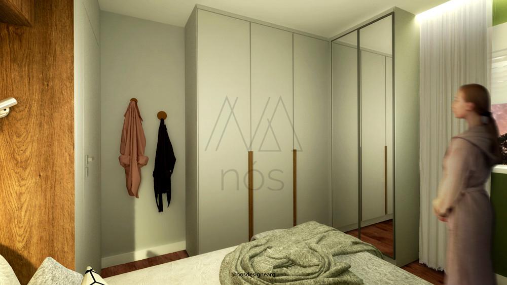 residencial-quarto-branco-madeira-verde-