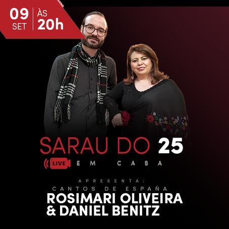 Sarau do 25 em Casa - Rosemari & Daniel