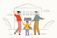 children-back-school-with-parents_52683-