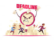 deadline-with-flying-paper-sheets-people