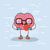 brain-cartoon-with-glasses-eating-apple_