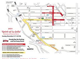 2021 No Parking Map