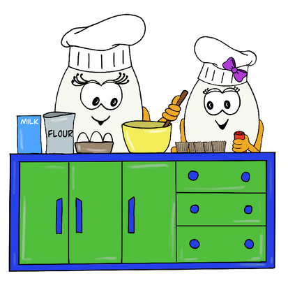 Wola and Weva cooking - Wolols