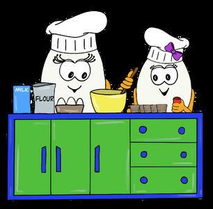Wola and Weva cooking - Wolols