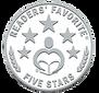Wolols 5 stars readers award.png