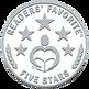 Wolols 5 stars Readers Favourite Award