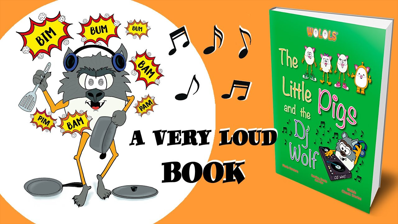 Video The Little Pigs and Dj Wolf Children Book