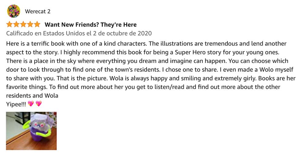 Werecat Amazon review.png