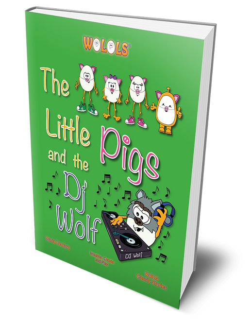 The Little Pigs and the Dj Wolf by Wolols Paperback