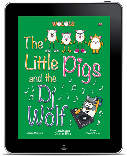 EPUB - The Little Pigs and the Dj Wolf by Wolols