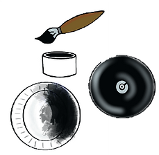 paint plates like records.png