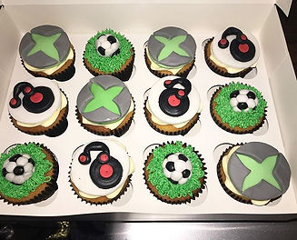 Cupcakes showcasing the customers favour