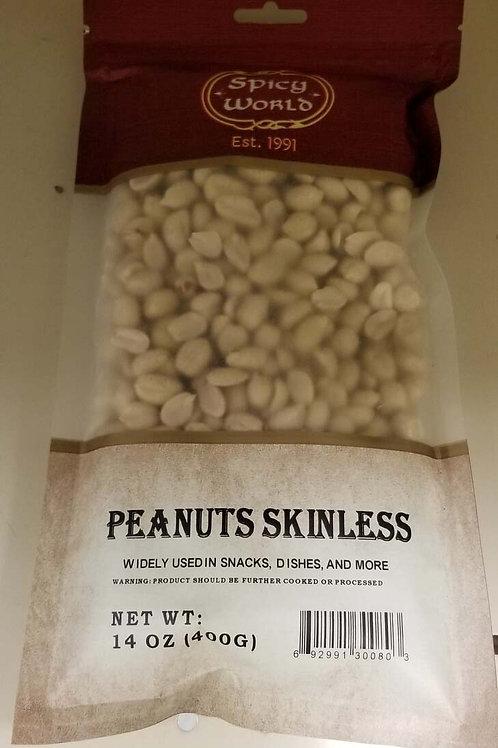Skinless Peanuts (14oz)