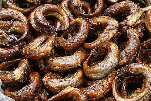 Dry Smoked Fish sold per pound