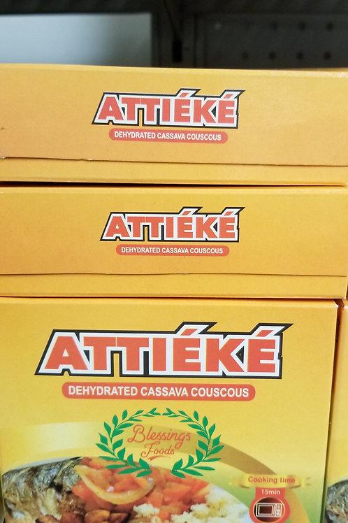 Attieke (dehydrated cassava Couscous)