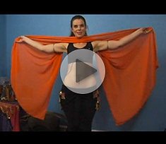 How to Bellydance with a Veil