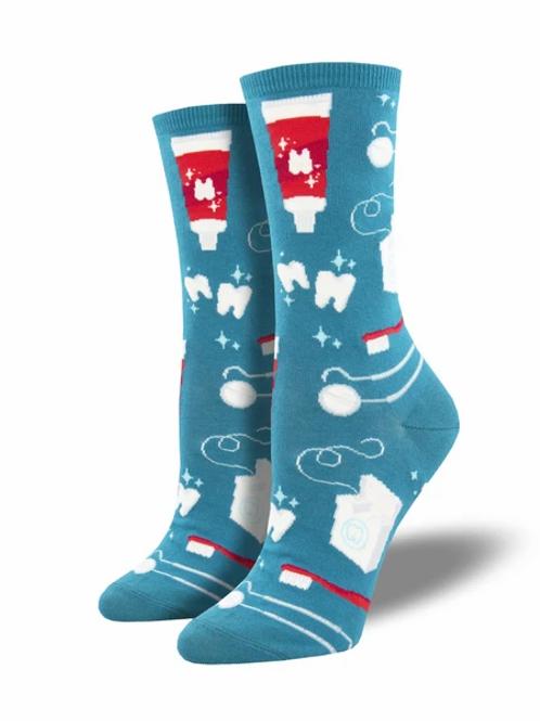 """Pearly White""  Women's Socks"