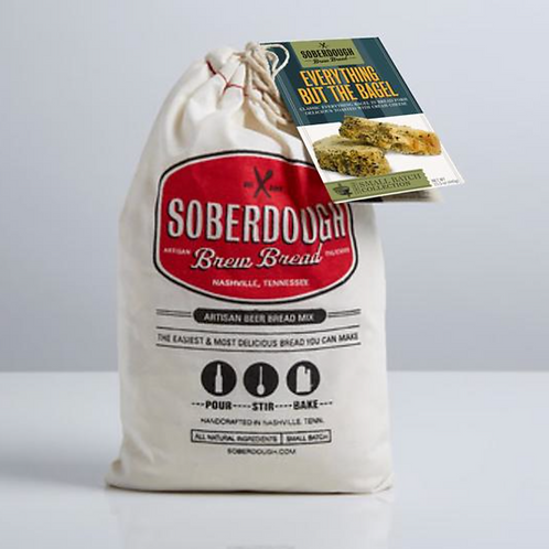 Everything But The Bagel Soberdough Brew Bread
