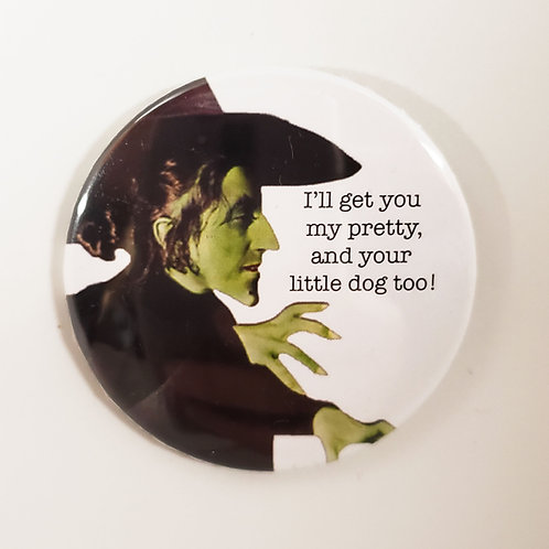 Wicked Witch Pin