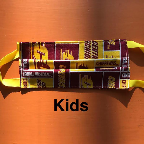 KIDS Central Michigan Mask Elastic
