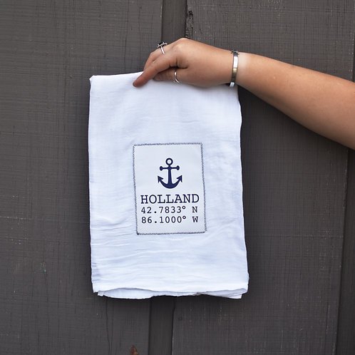 'Holland Anchor' Kitchen Towel