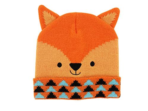 Kid's Fox Knit Hat