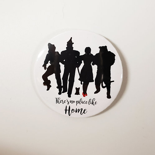 There's No Place Like Home Character Pin
