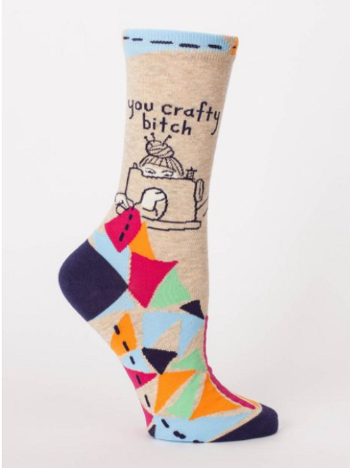 'You Crafty B*tch' Women's Socks