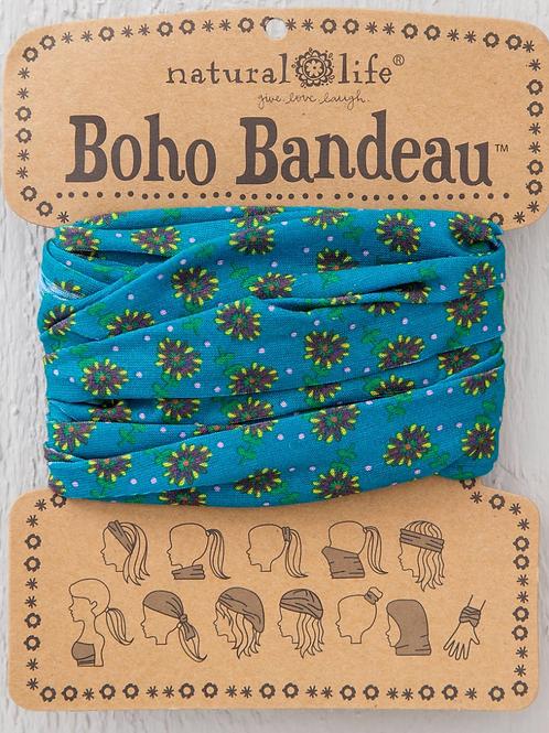 Turquoise Daisies Full Boho (BBW159)