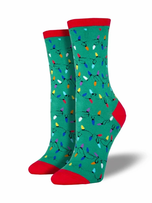 Christmas Lights  Women's socks