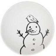 Snowman with Bird bowl