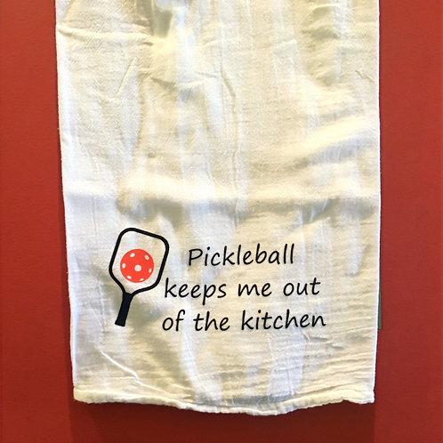 Pickleball Kitchen Towel